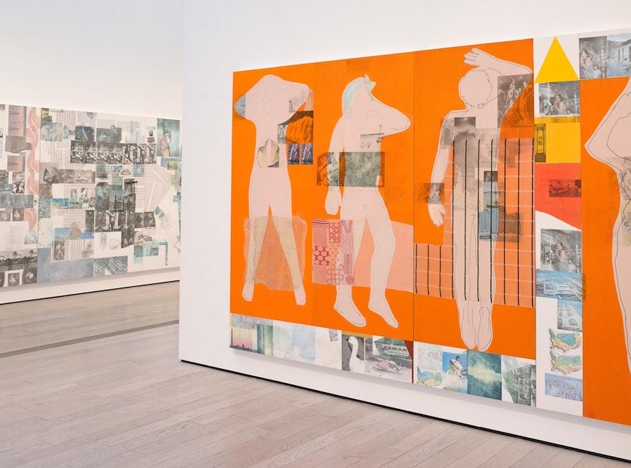 LACMA indoor art gallery