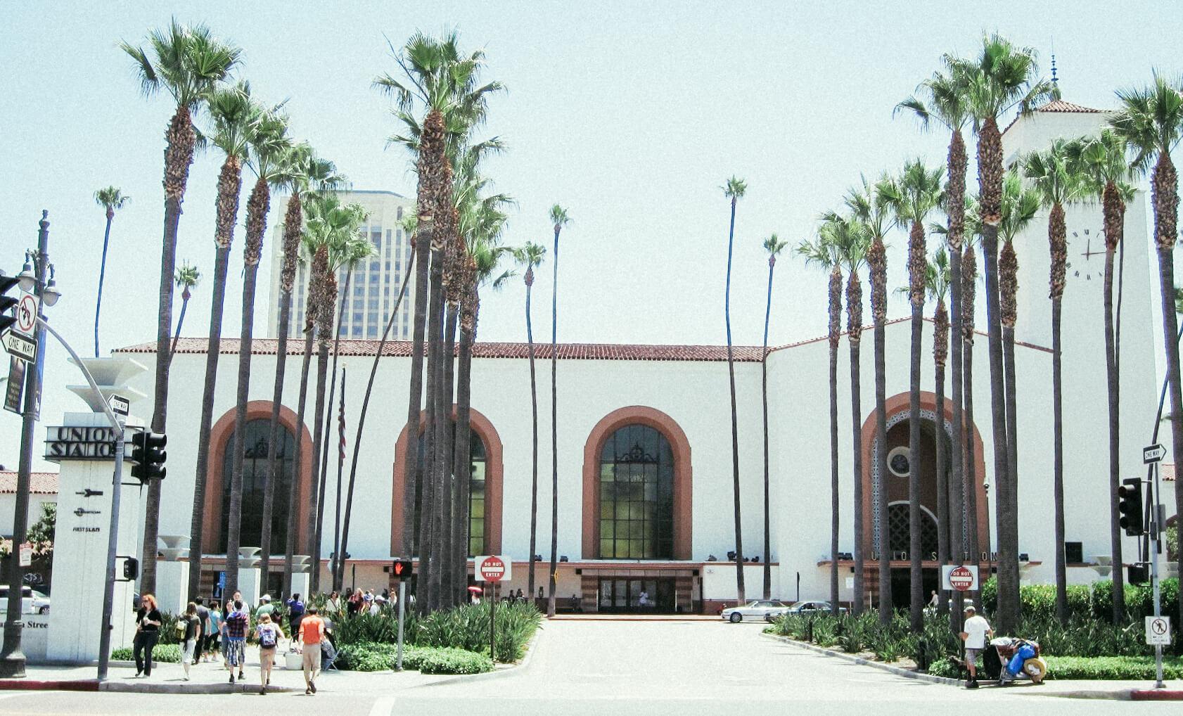 Union Station LA exterior