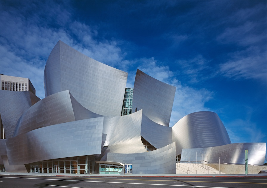 Walt Disney Concert Hall exterior