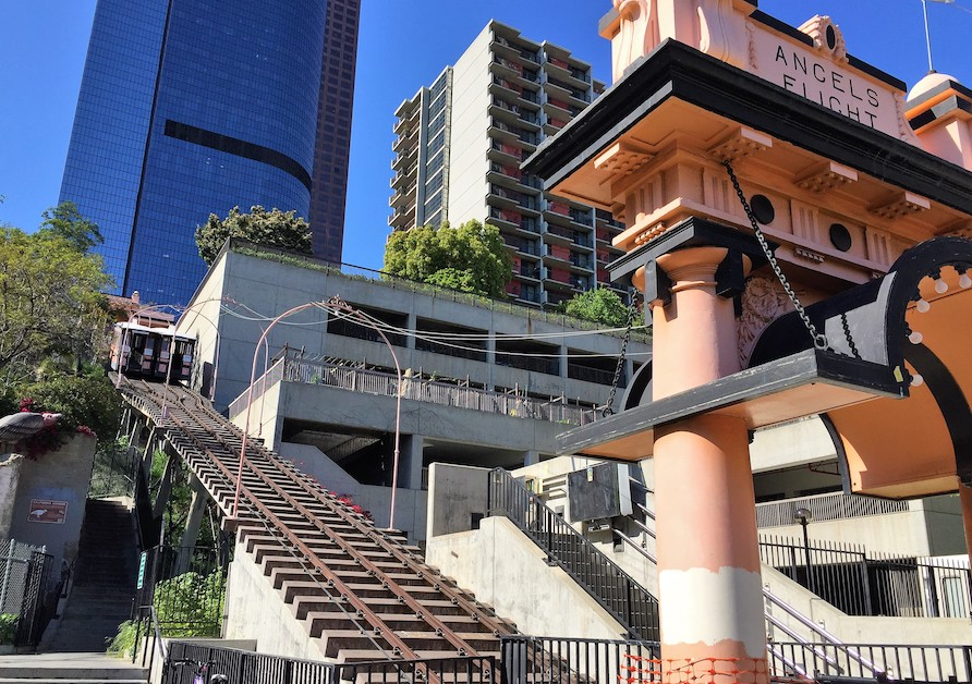 Angels Flight Railway in LA