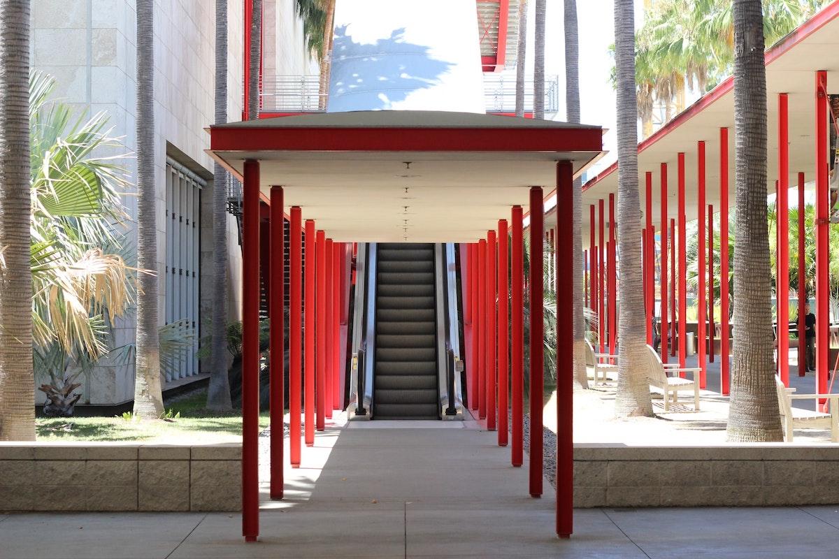 Entrance to LACMA museum in LA