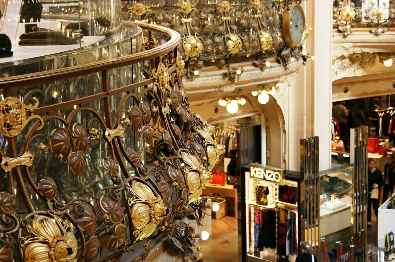 Galeries Lafayette interior