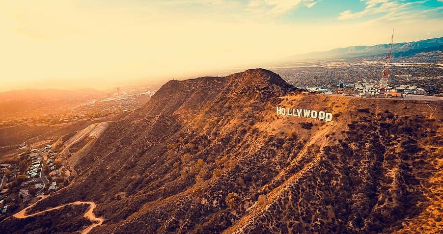 Hollywood Sign in LA Park