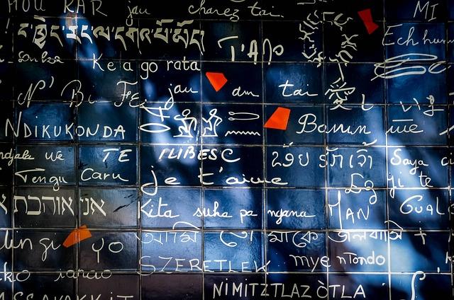 I love You Wall Near Montmartre Paris