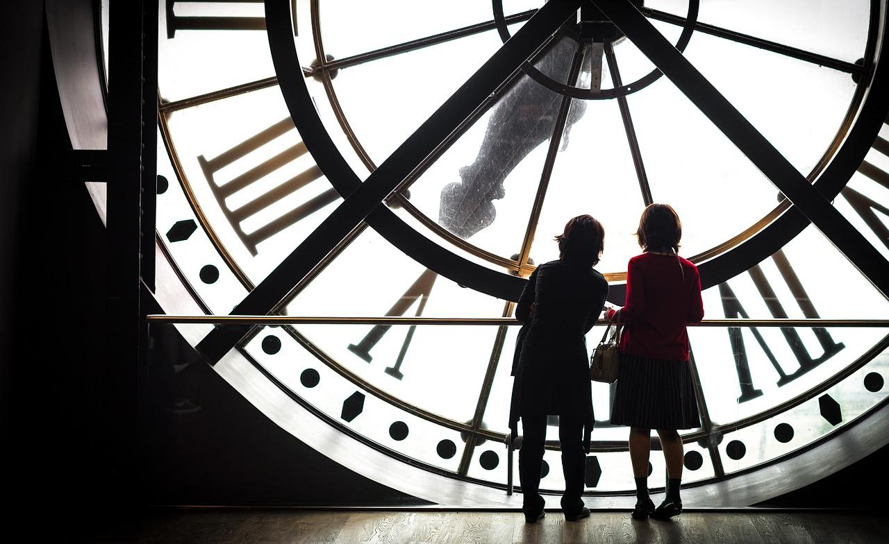 Orsay Museum clock window in Paris