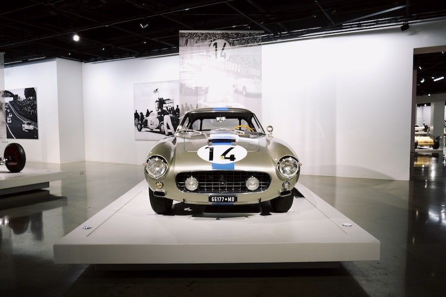 Peterson Automotive Museum car on display