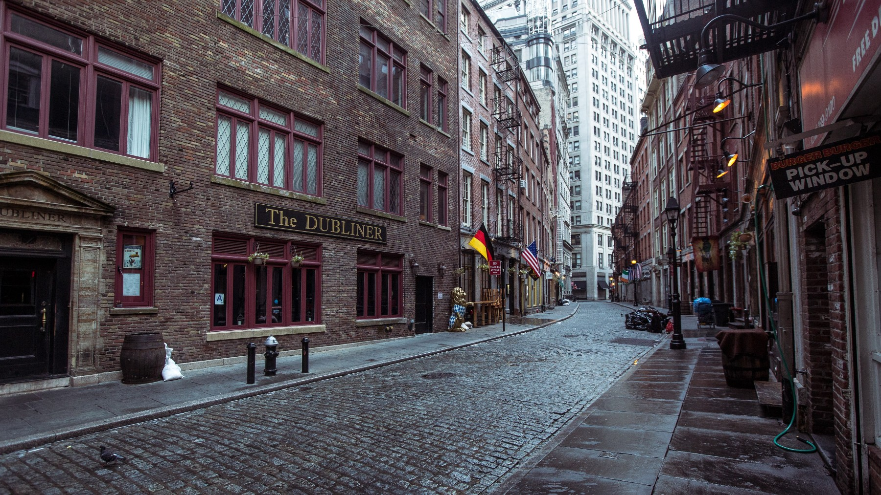 Stone Street in the Financial District