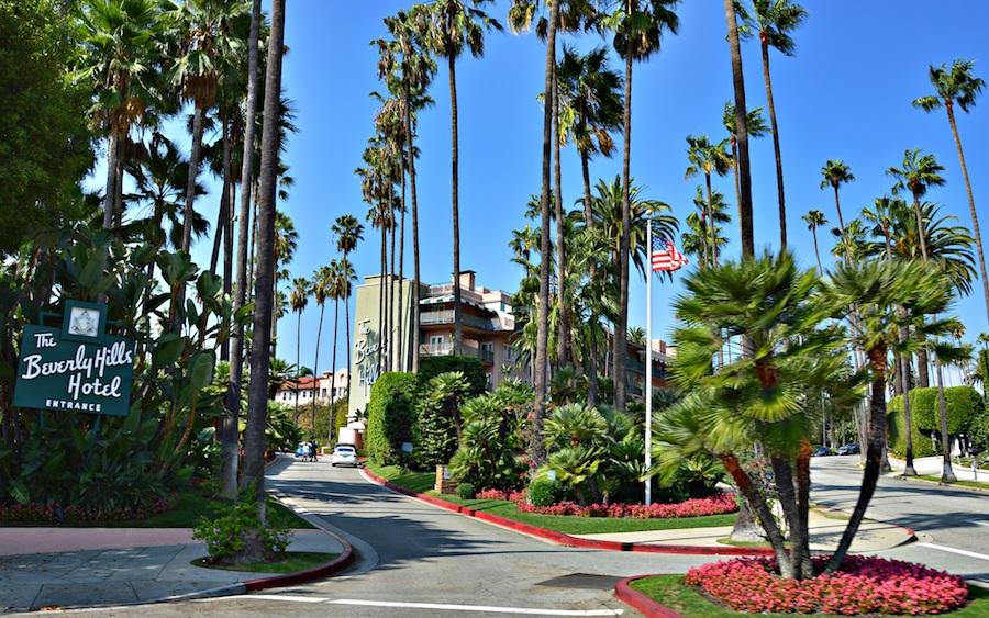 Beverly Hills Hotel in LA