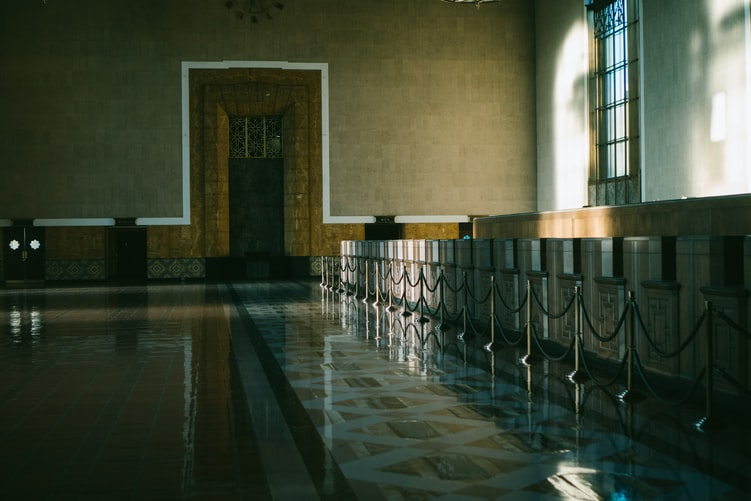 Interior of Union Station