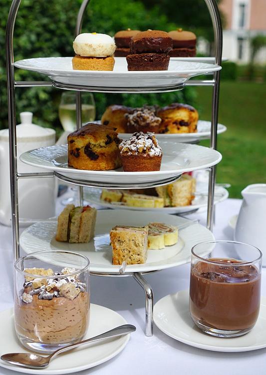 Chocolate high tea at Versailles