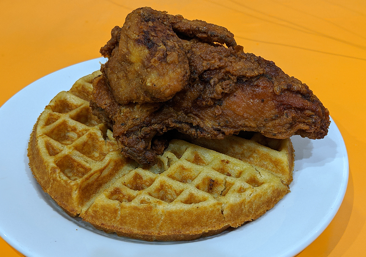 Amy Ruths chicken and waffles