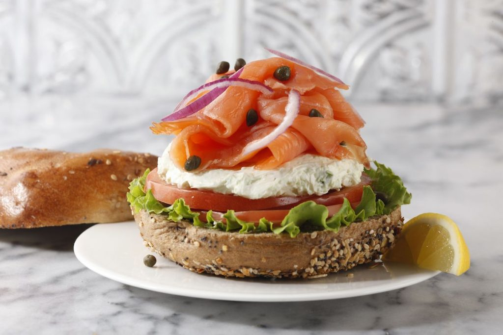 bagel from Ess-A-Bagel in New York City