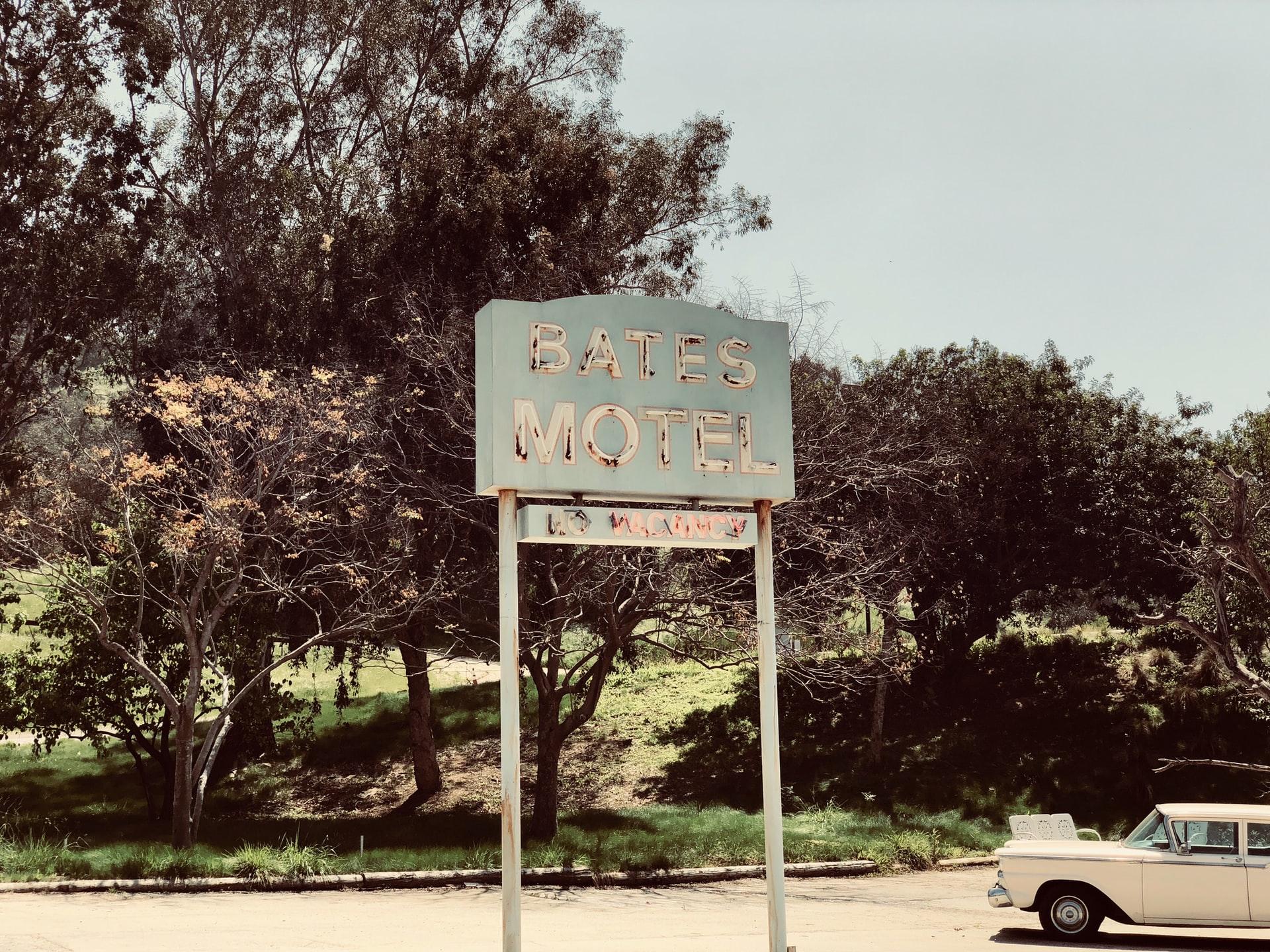 Creepy Bates Motel at Universal Studios Hollywood