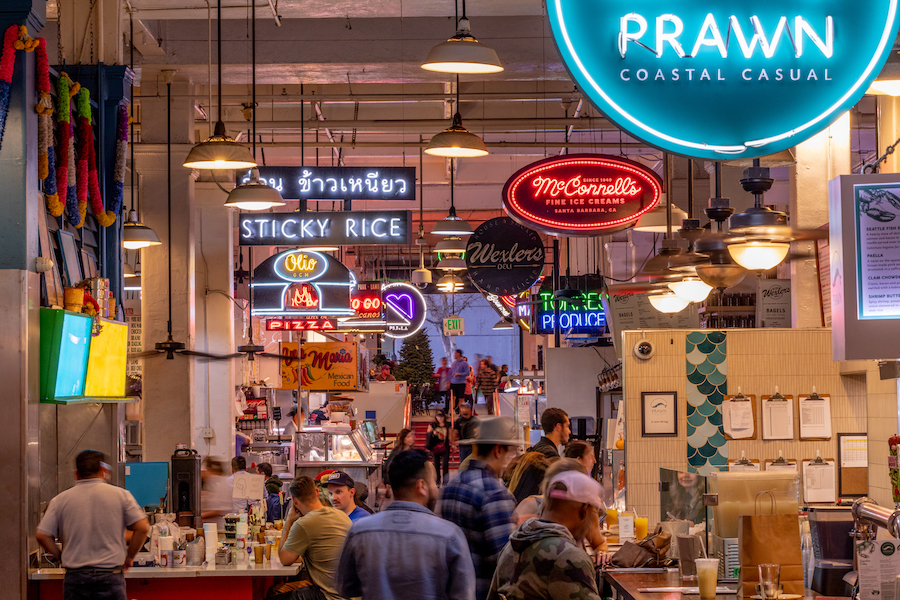 Los Angeles Grand Central Market photo by Jakob Layman