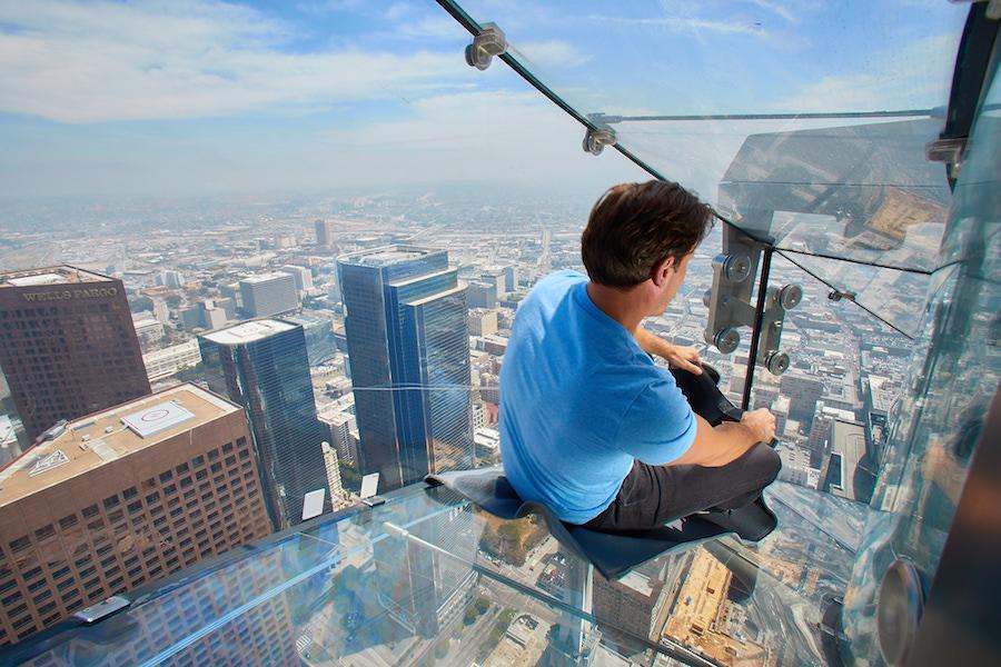 Los Angeles SkySlide photo by OUE Skyspace LA