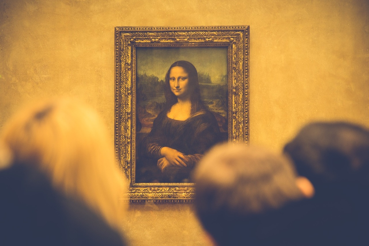 Mona Lisa at the Louvre in Paris