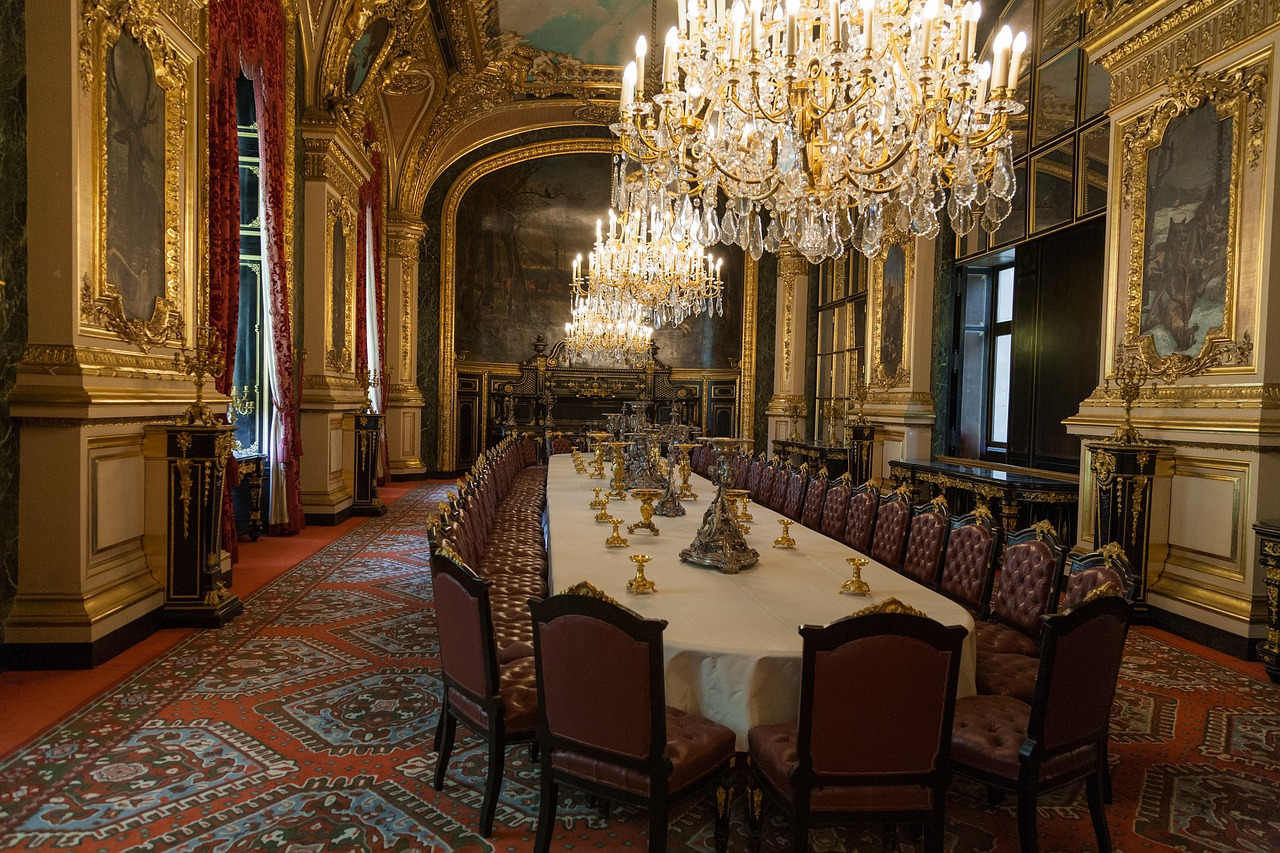 Napoleon III apartments on display in the Louvre