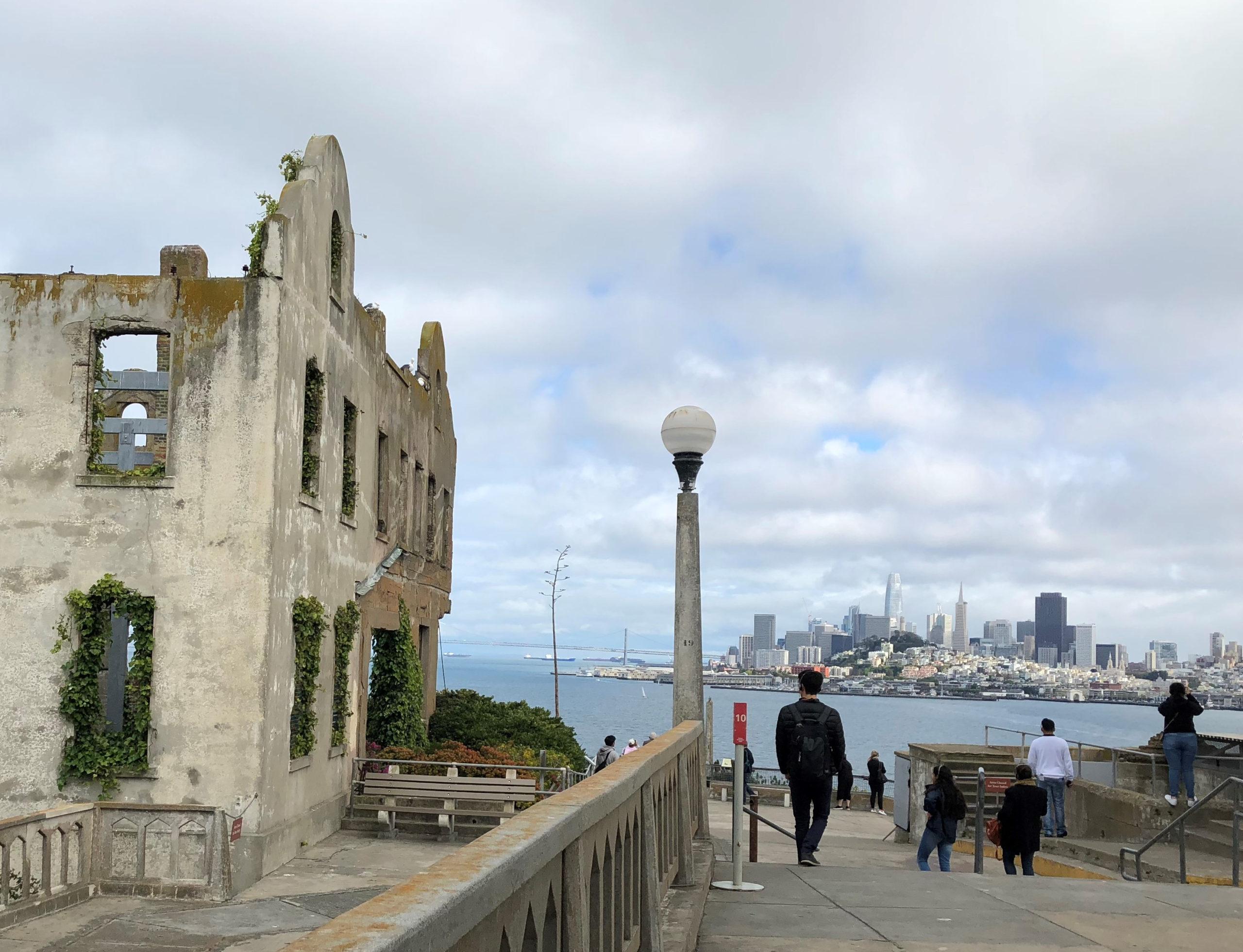 Alcatraz SF skyline