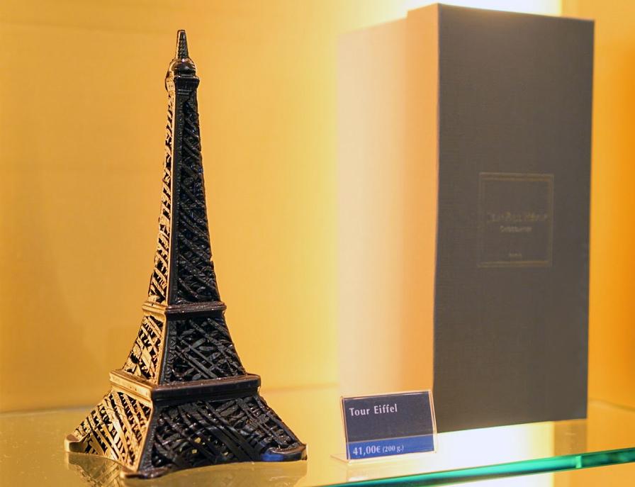 Jean Paul Hevin Eiffel Tower in Paris