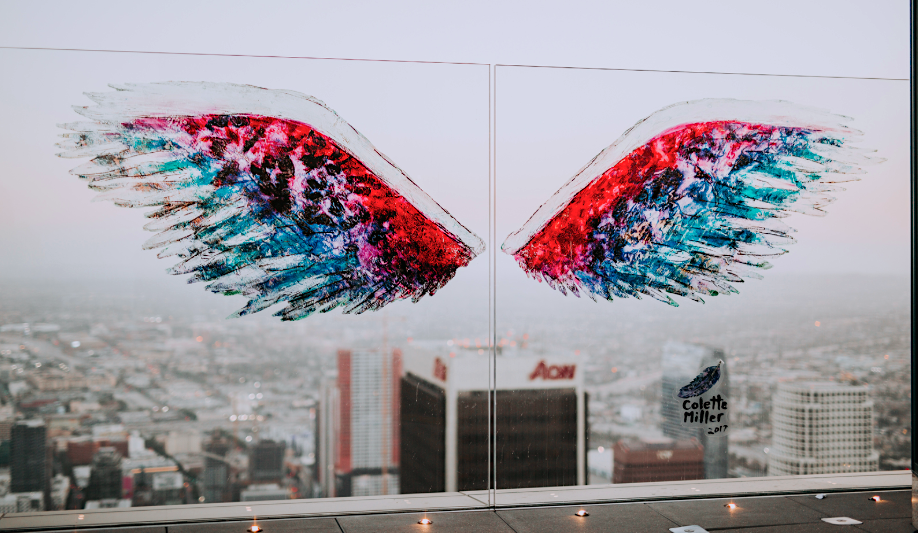 Los Angeles Colette Miller Wings photo by OUE Skyspace LA
