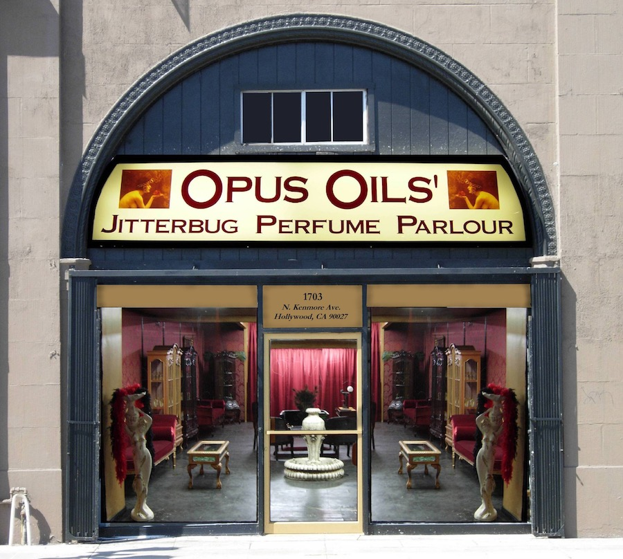 Los Angeles magical destination: Opus Oils perfume parlour