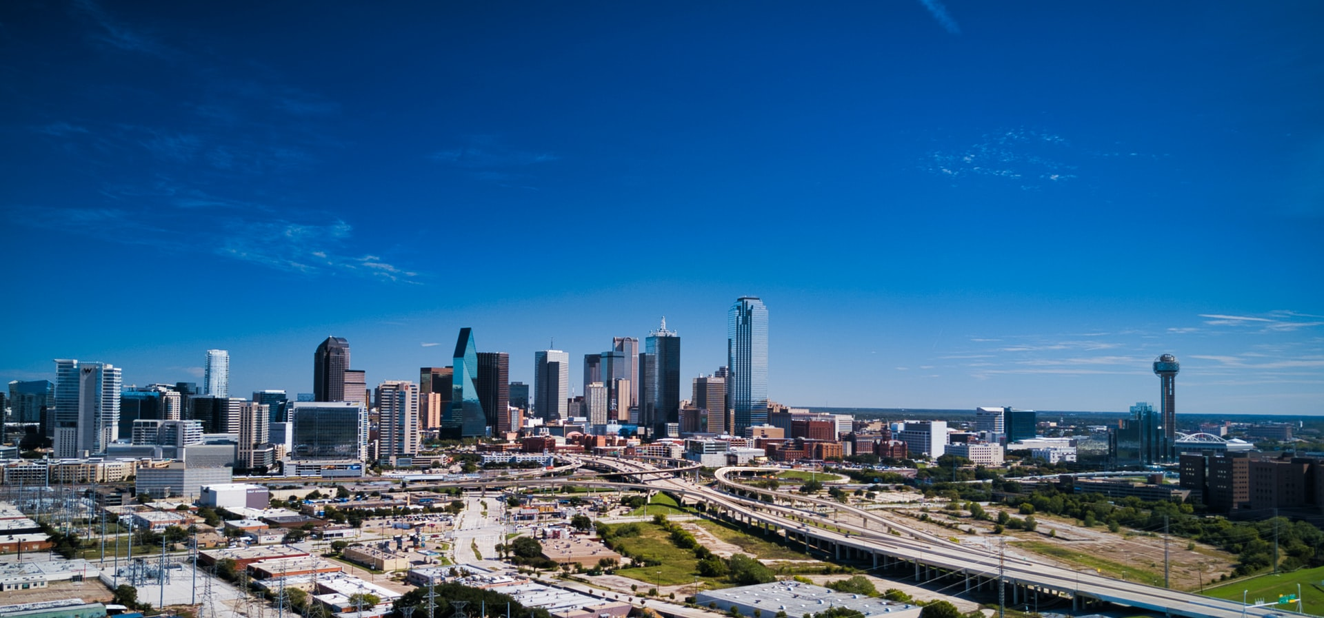 View of Downtown Dallas Skyline