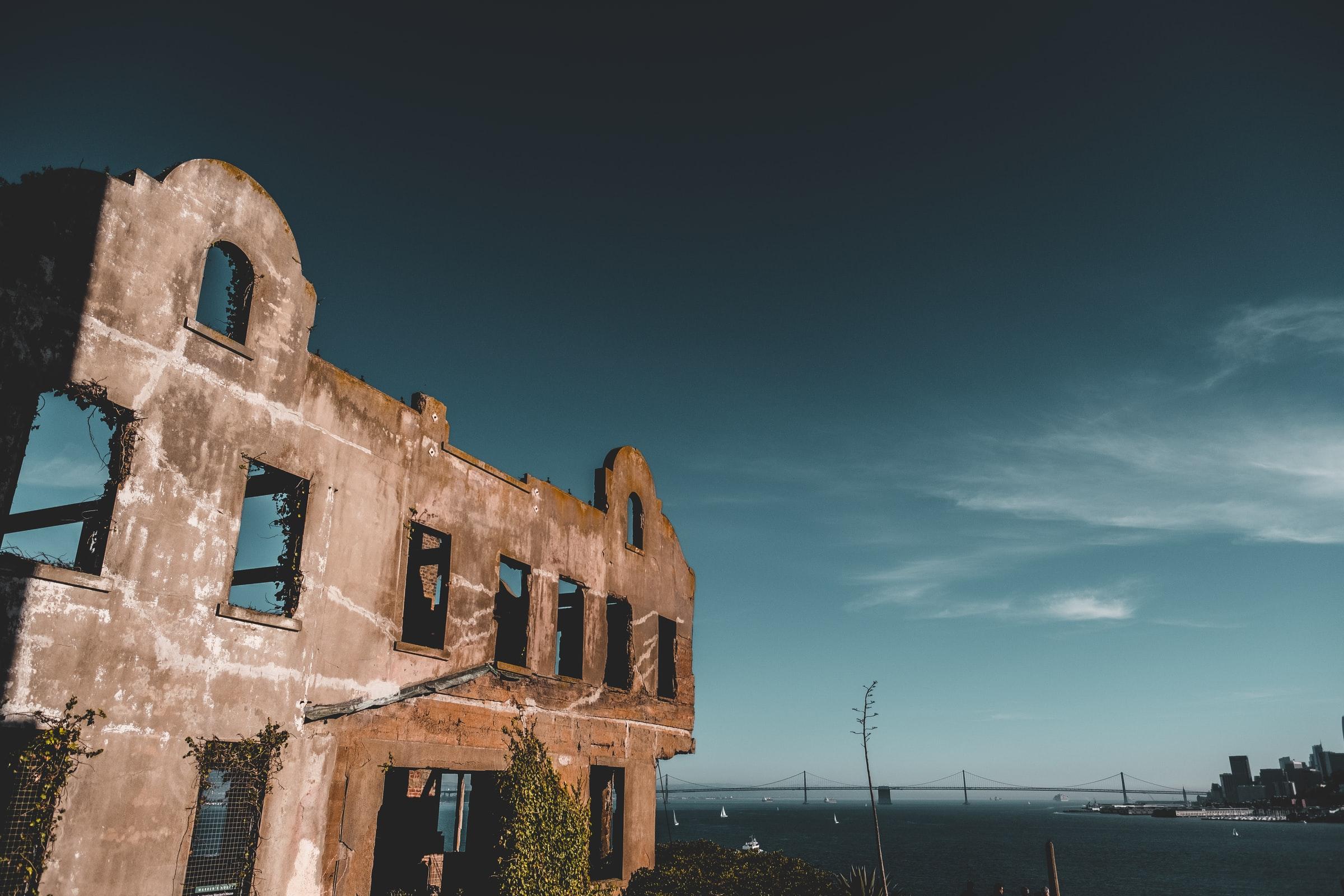 alcatraz empty building