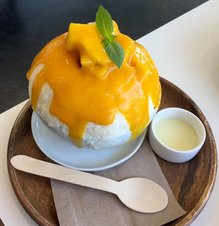 mango ice anko in Los Angeles