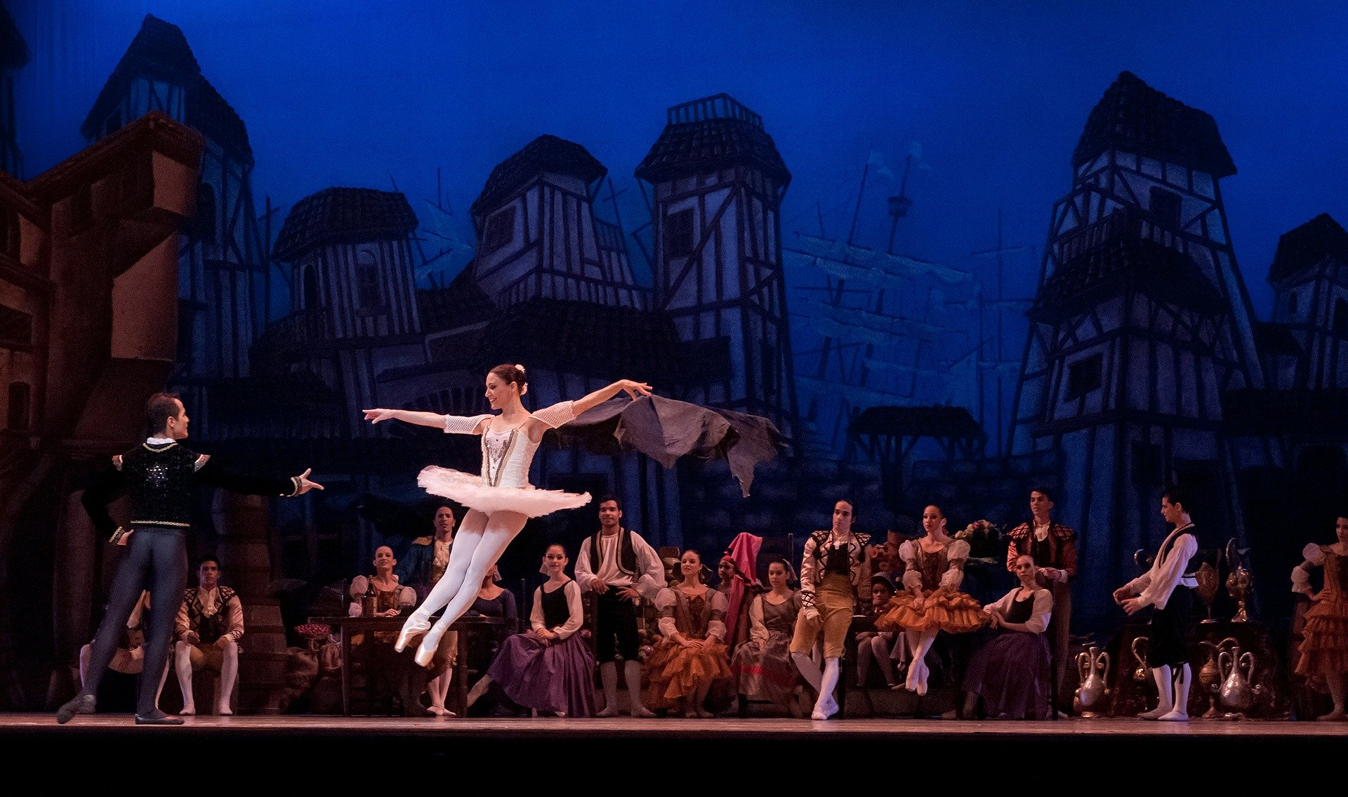 Ballet at opera house