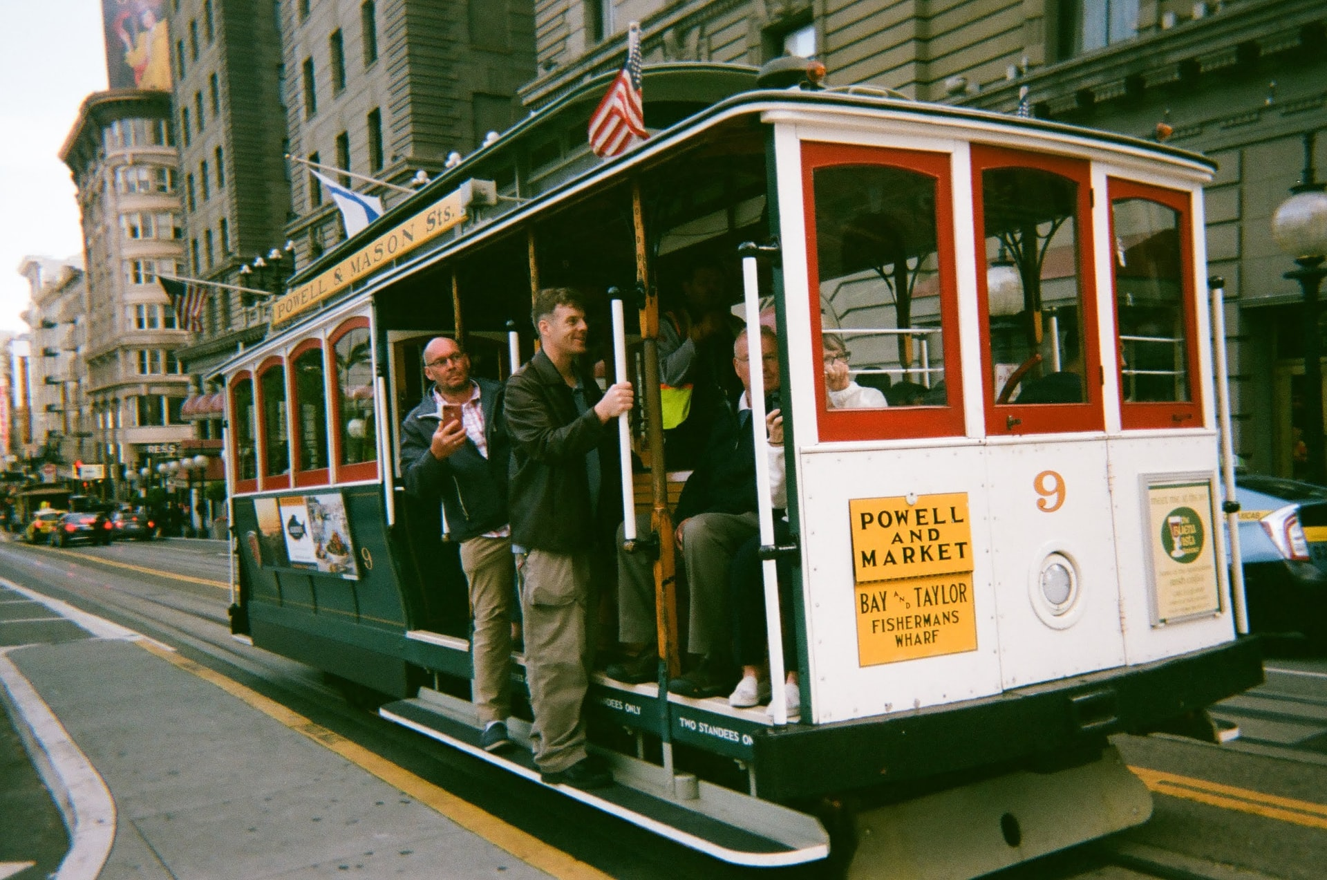 Cable Car at Powell and Market