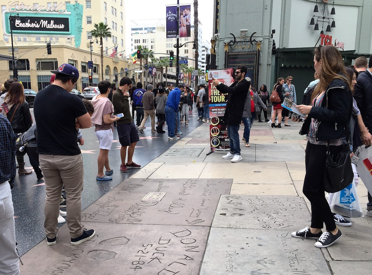 Crowd outside TCL Chinese Theatre