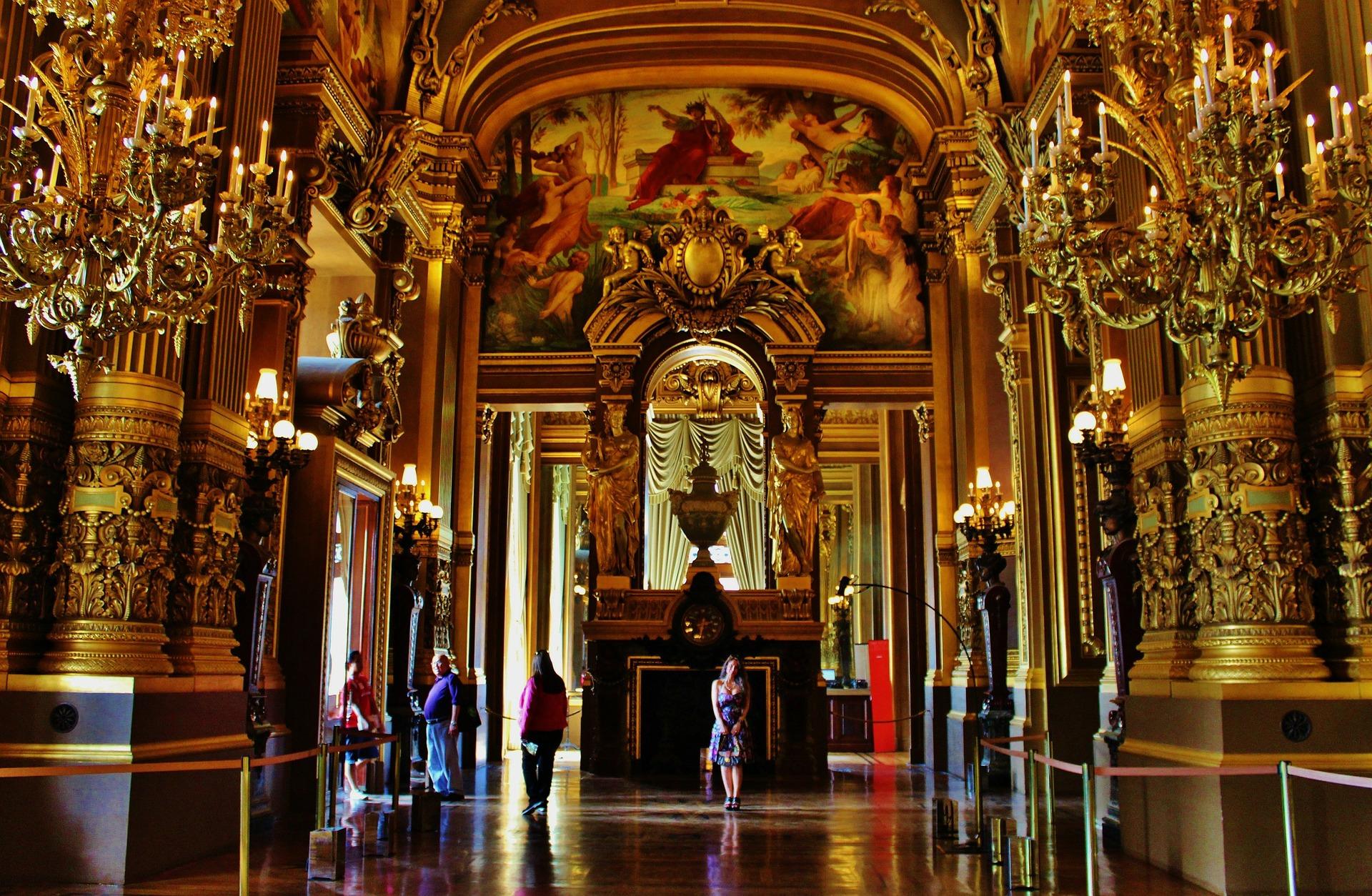 Interior of the Palais Garnier