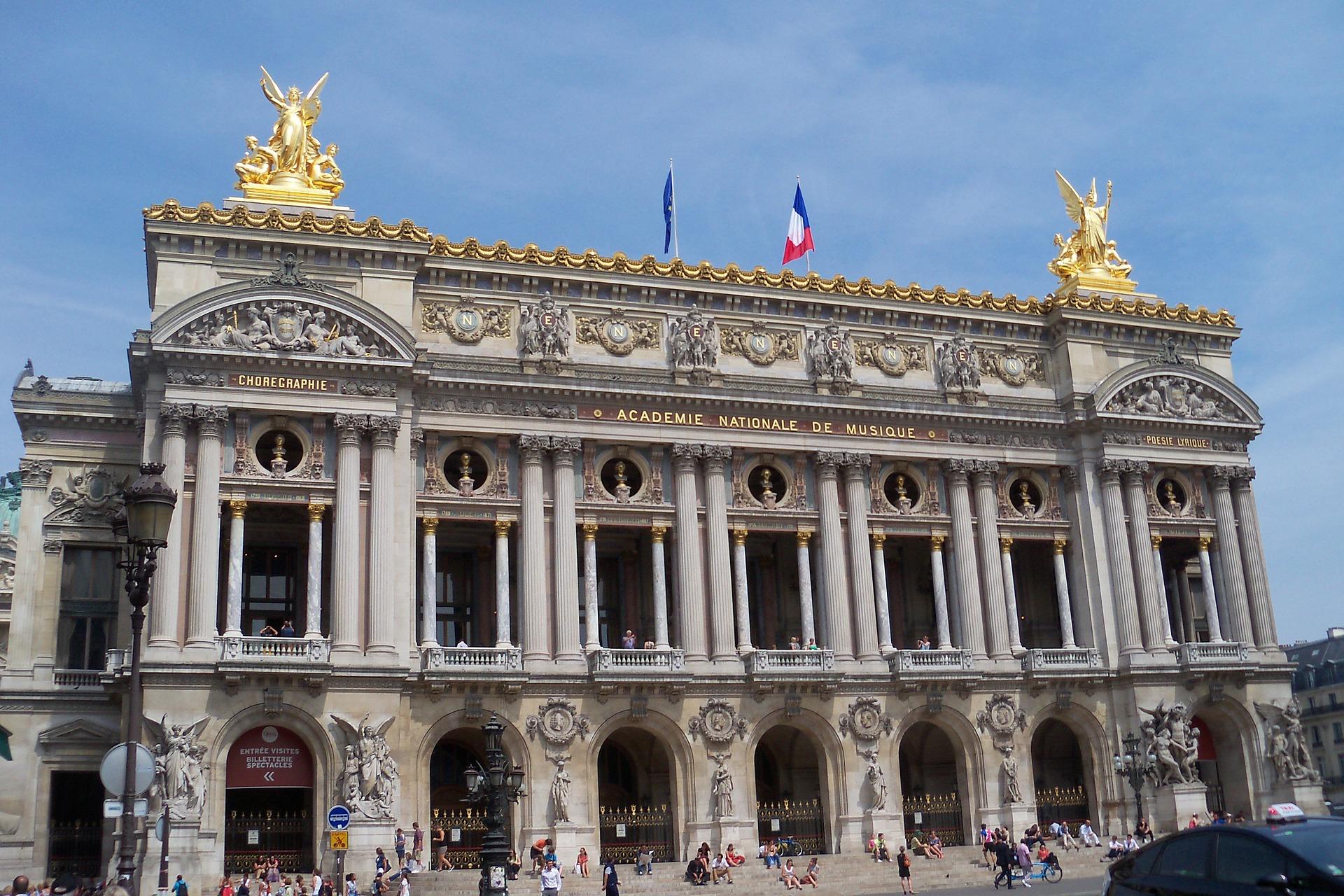 Opera Garnier facade