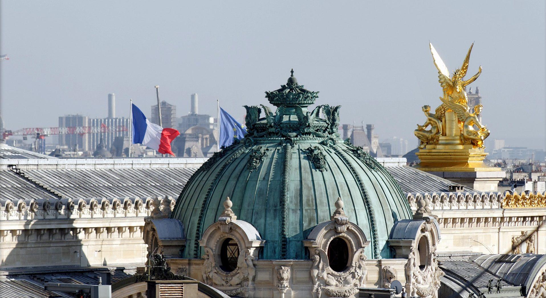Roof of the Palais Garnier