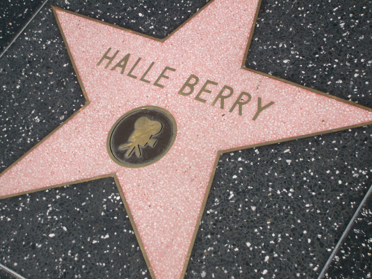 Halle Berry star on the Hollywood Walk of Fame