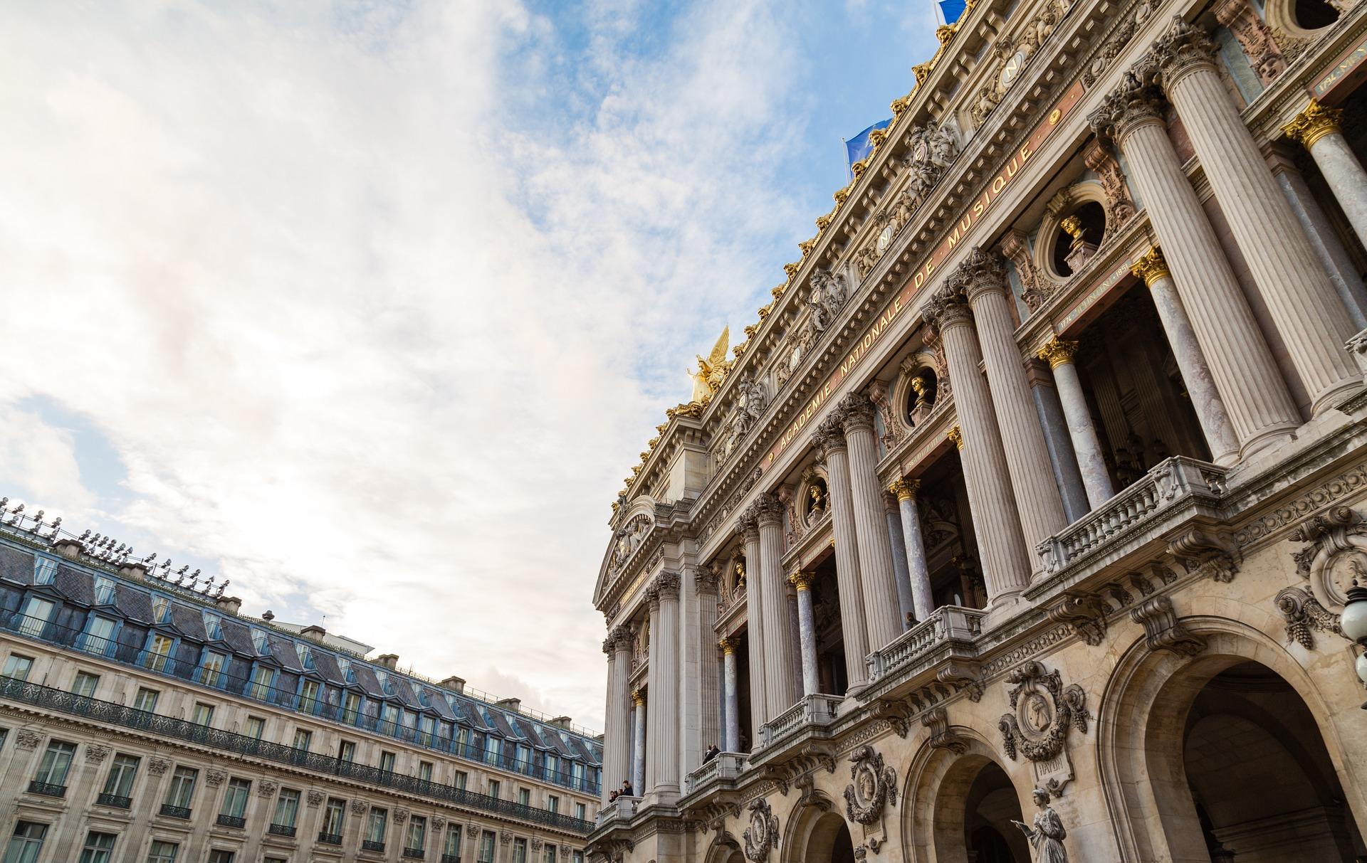 Palais Garnier in Paris