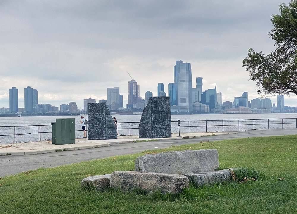 Governors Island grassy area for NYC itinerary