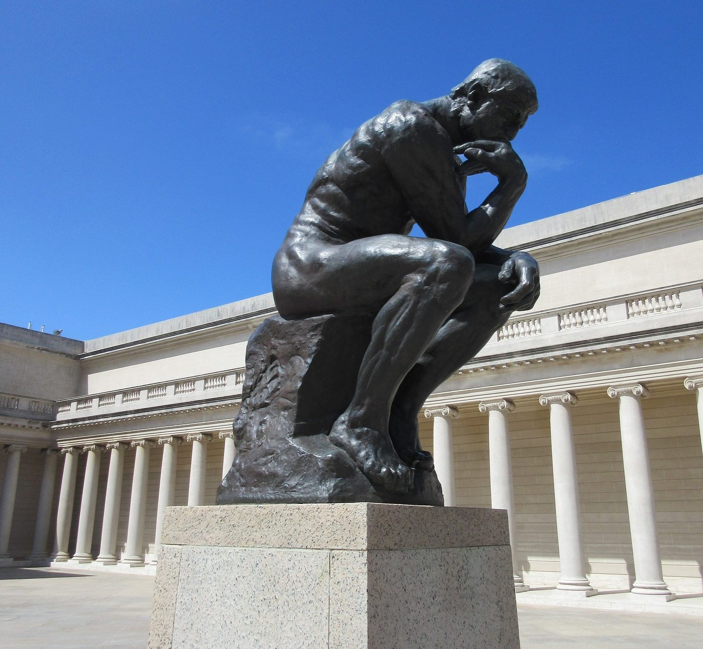 Thinker statue at Legion of Honor