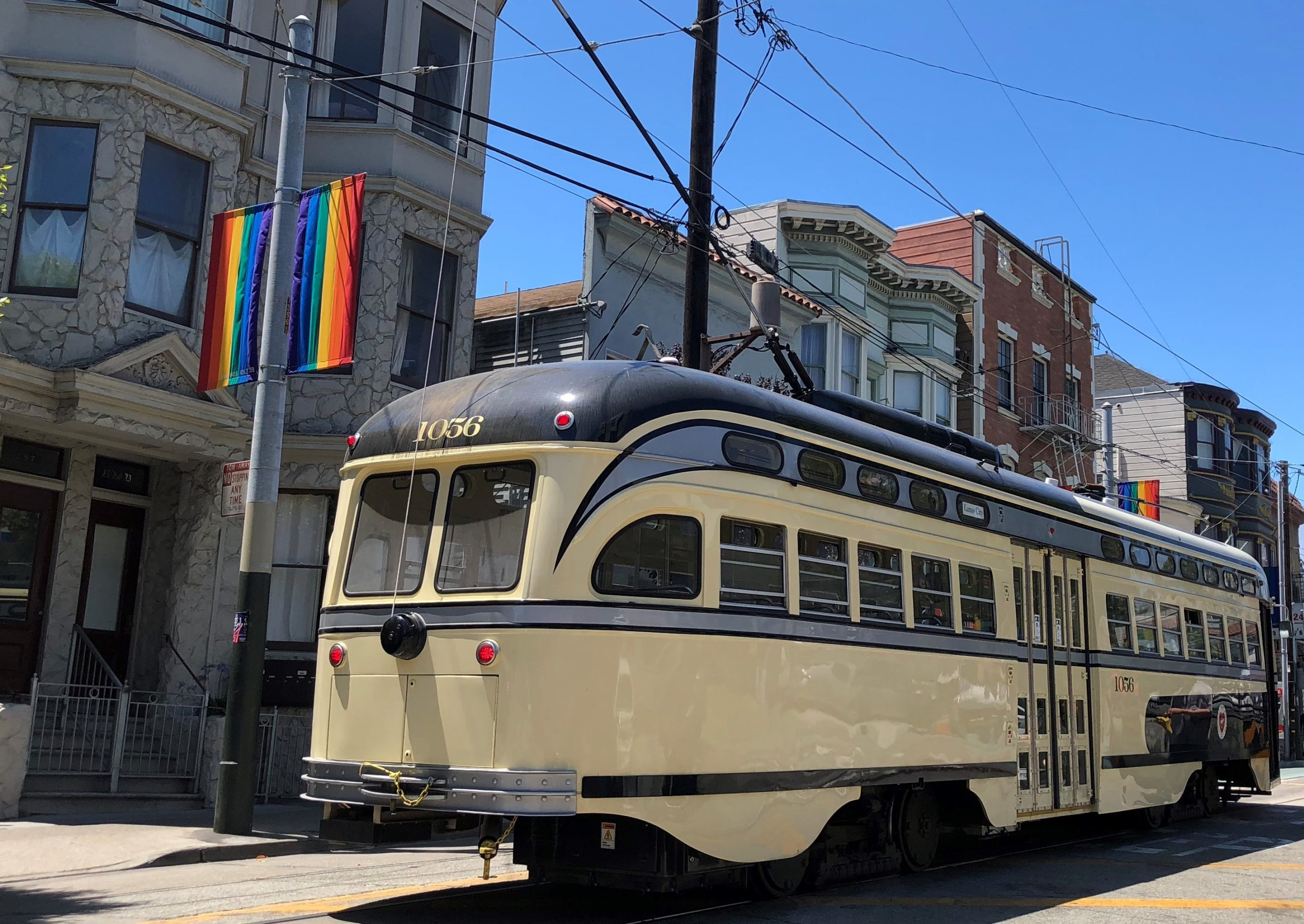 Cable Car in the Castro District