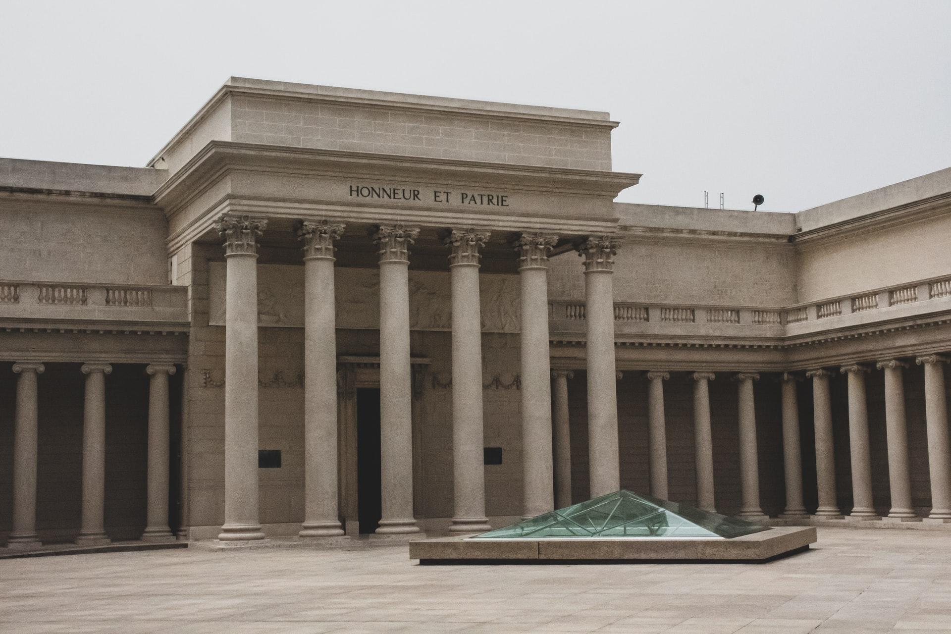 Legion of Honor facade with columns