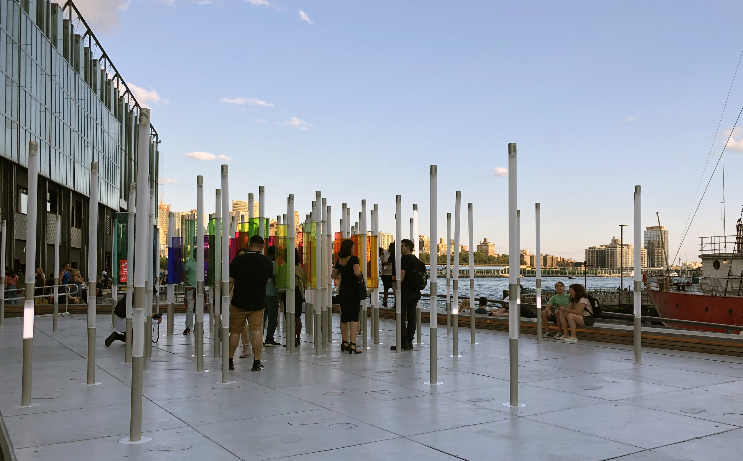 South Street Seaport Art in NYC