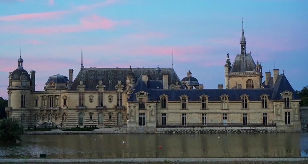 Domaine de Chantilly in December