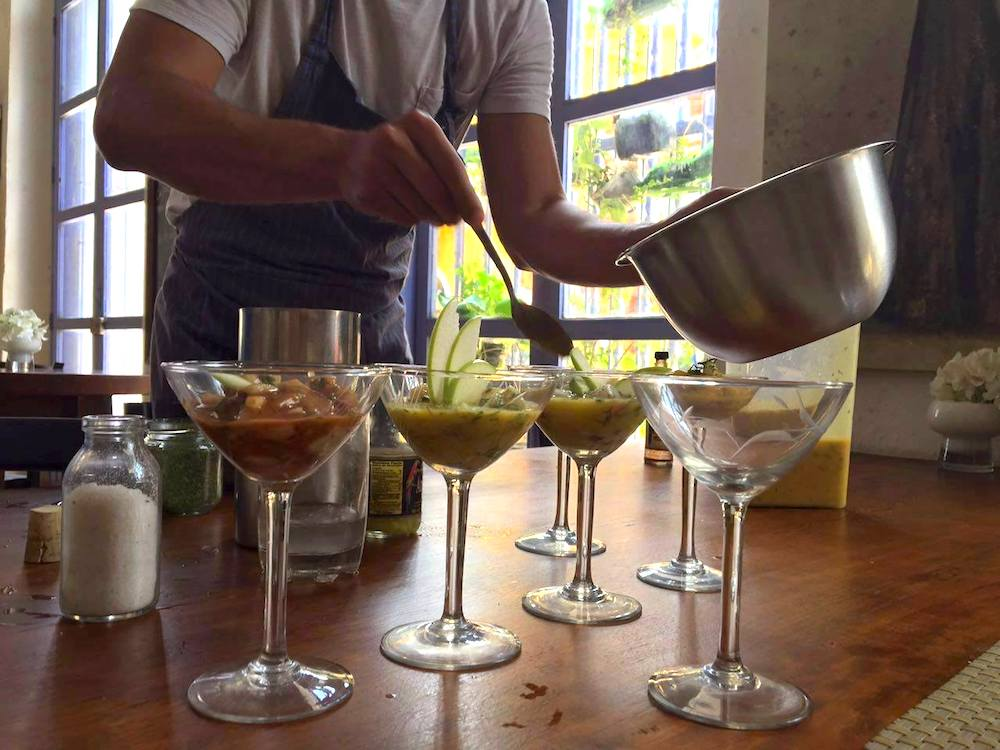 Local Gourmet Cooking Class on your Columbia travel itinerary