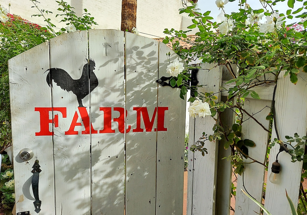 Farm Restaurant in Palm Springs