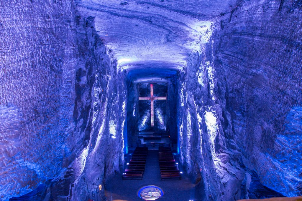 Zipaquira Salt Cathedral in Columbia