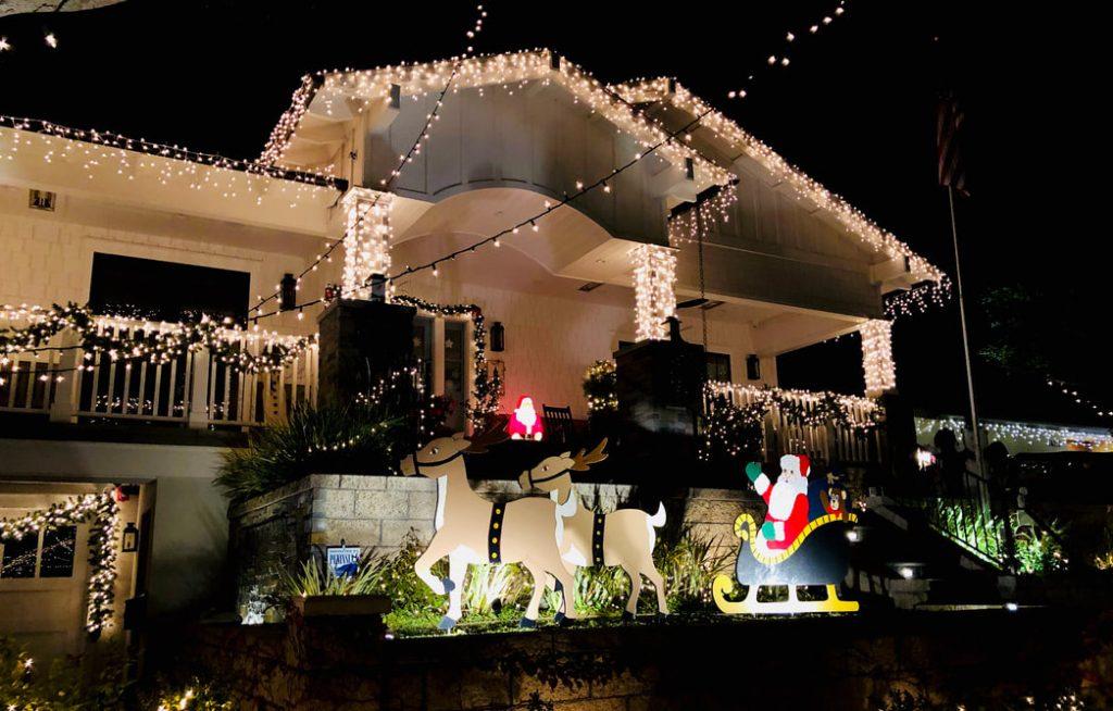 Sleepy Hollow Holiday Lights Extravaganza in Torrance near LA