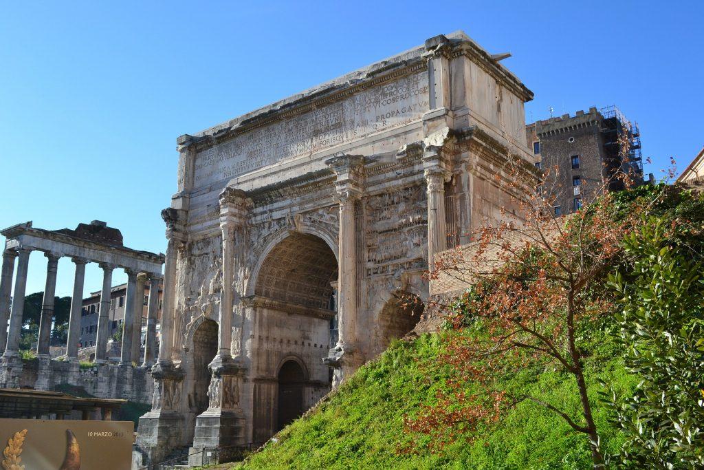 arch in the Roman Forum