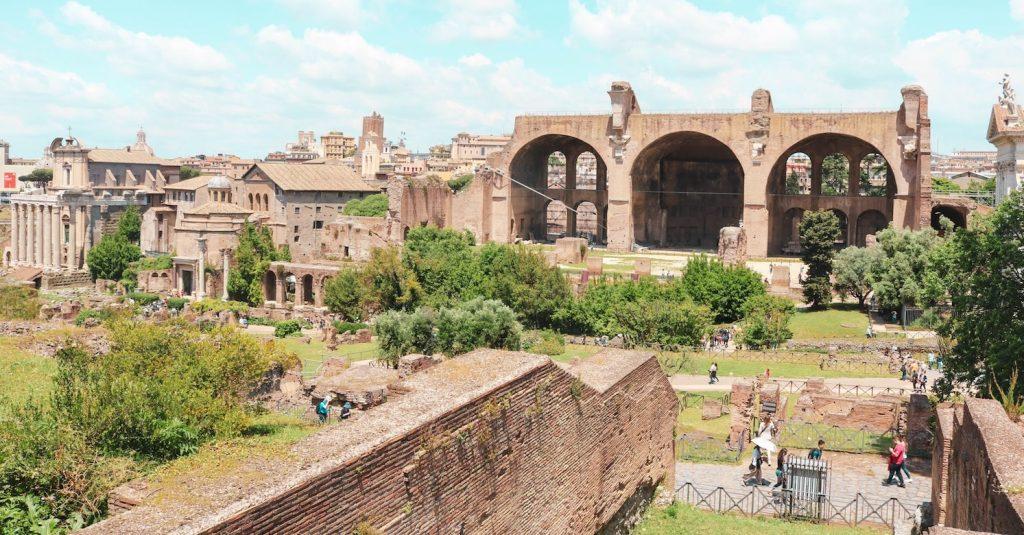 The Roman Forum on the Via della Salara Vecchia in Rome