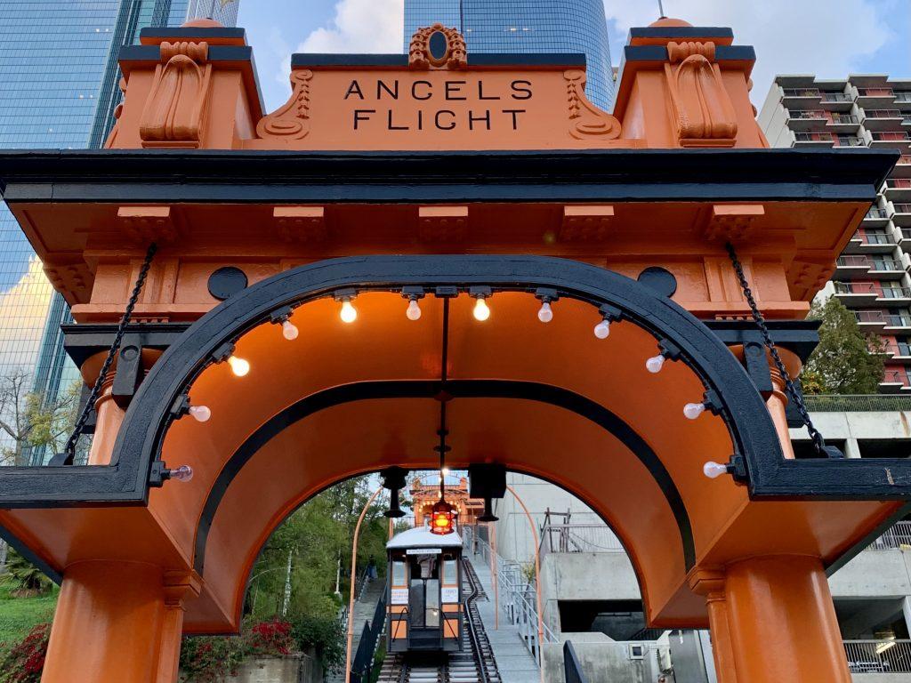 Angels Flight Railway in LA