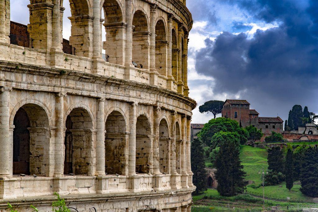 Roman Colosseum rotunda